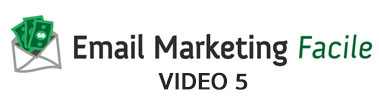 Email Marketing Facile 2014 - Video 5