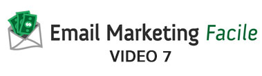 Email Marketing Facile 2014 - Video 7